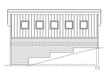 House Plan Design - Contemporary Exterior - Other Elevation Plan #932-187