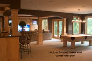 Craftsman Style House Plan - 5 Beds 4.5 Baths 4972 Sq/Ft Plan #51-576 Interior - Other