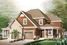 Dream House Plan - Traditional Exterior - Front Elevation Plan #23-633
