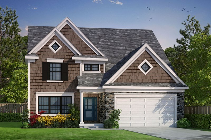 Dream House Plan - Traditional Exterior - Front Elevation Plan #20-2275