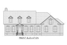 Traditional Exterior - Front Elevation Plan #1054-61