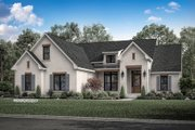 Farmhouse Style House Plan - 3 Beds 2 Baths 2165 Sq/Ft Plan #430-189 Exterior - Front Elevation