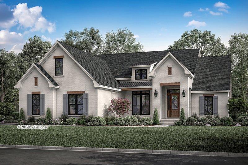 Farmhouse Exterior - Front Elevation Plan #430-189