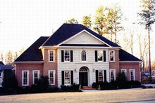 Dream House Plan - Colonial Exterior - Other Elevation Plan #119-320