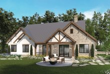 House Plan Design - Farmhouse Exterior - Rear Elevation Plan #928-355