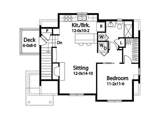 House Plan Design - Country Floor Plan - Upper Floor Plan #22-605