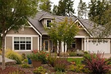 Architectural House Design - Front View - 2350 square foot Craftsman home