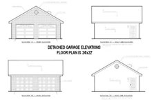 House Design - Country Exterior - Rear Elevation Plan #44-139