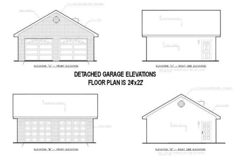 Country Exterior - Rear Elevation Plan #44-139 - Houseplans.com