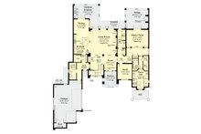 Contemporary Floor Plan - Main Floor Plan Plan #930-461