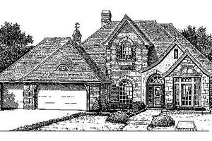 Colonial Exterior - Front Elevation Plan #310-726
