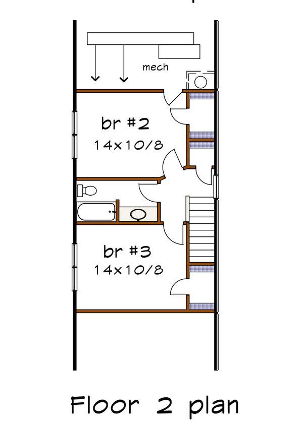Dream House Plan - Bungalow Floor Plan - Upper Floor Plan #79-318