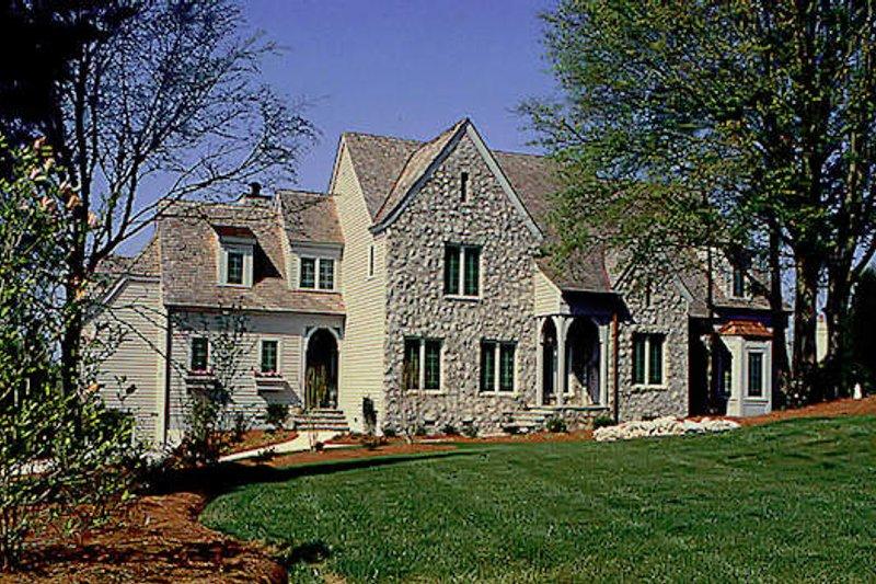 Dream House Plan - European Exterior - Front Elevation Plan #453-21