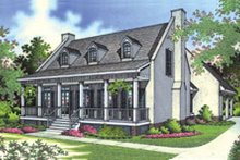 House Plan Design - Southern Exterior - Front Elevation Plan #45-189