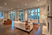 Contemporary Style House Plan - 4 Beds 3 Baths 4366 Sq/Ft Plan #132-226 Interior - Family Room
