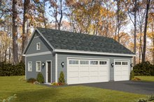 Dream House Plan - Country Exterior - Front Elevation Plan #932-197