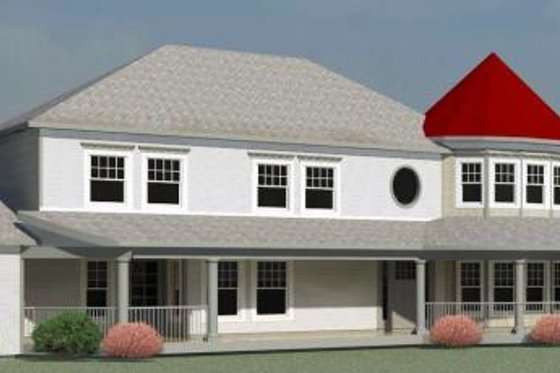 Traditional Exterior - Front Elevation Plan #524-10