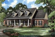 Colonial Style House Plan - 4 Beds 2.5 Baths 2603 Sq/Ft Plan #17-2068 Exterior - Other Elevation