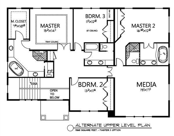 Traditional Floor Plan - Other Floor Plan Plan #133-108