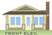 Craftsman Style House Plan - 3 Beds 2 Baths 1176 Sq/Ft Plan #550-1 Photo