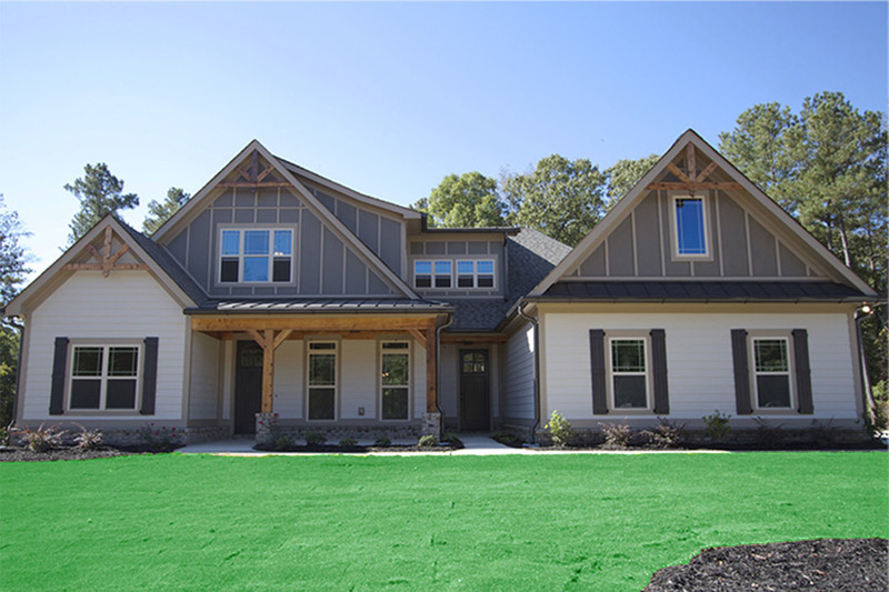 Traditional Exterior - Front Elevation Plan #927-6 - Houseplans.com