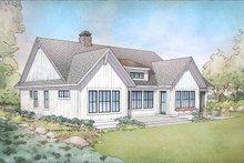 Farmhouse Exterior - Rear Elevation Plan #928-303