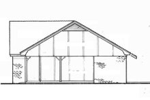 Home Plan - Exterior - Other Elevation Plan #45-220