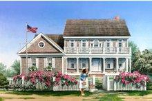 Cape Cod designed home, elevation
