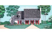 Southern Style House Plan - 2 Beds 2 Baths 1683 Sq/Ft Plan #45-321 Exterior - Other Elevation