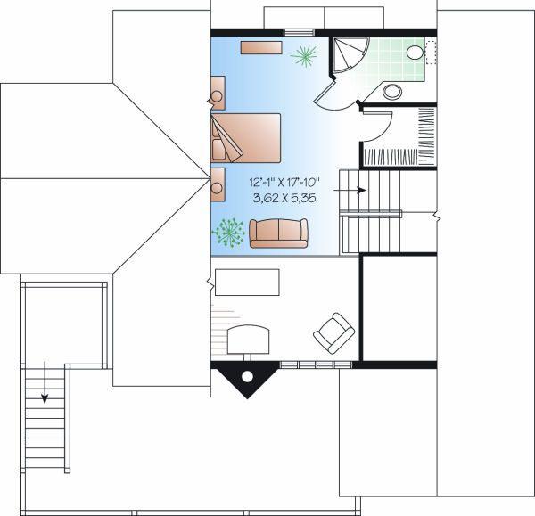 Traditional Floor Plan - Other Floor Plan Plan #23-869