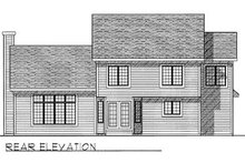 Traditional Exterior - Rear Elevation Plan #70-385