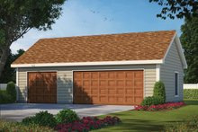 House Plan Design - Traditional Exterior - Front Elevation Plan #20-2449