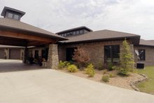 Contemporary Exterior - Front Elevation Plan #17-2551