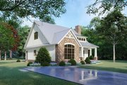 Cottage Style House Plan - 3 Beds 2.5 Baths 1957 Sq/Ft Plan #923-118 Exterior - Other Elevation
