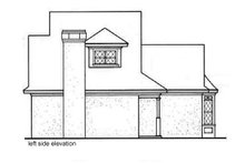 Dream House Plan - Left Elevation