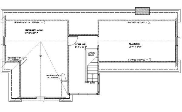 Colonial Floor Plan - Other Floor Plan Plan #477-5