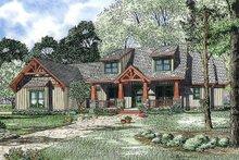 House Plan Design - Craftsman Exterior - Front Elevation Plan #17-2373