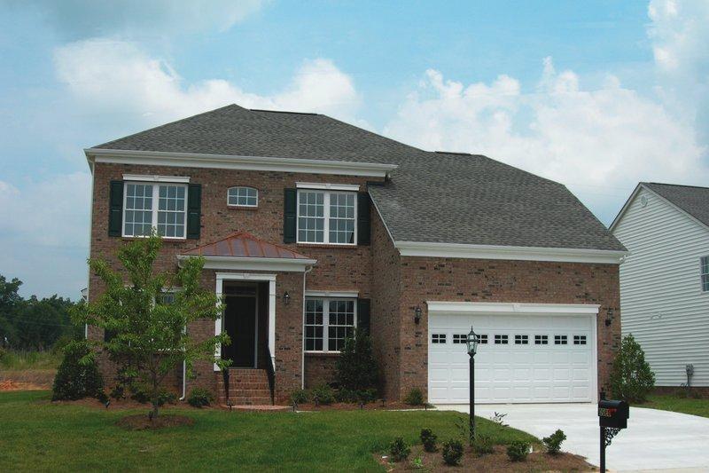 Dream House Plan - European Exterior - Front Elevation Plan #20-931