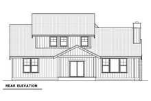 Farmhouse Exterior - Rear Elevation Plan #1070-16