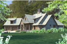 Craftsman Exterior - Other Elevation Plan #120-184