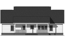 Southern Exterior - Rear Elevation Plan #21-354