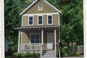 Craftsman Exterior - Front Elevation Plan #461-38