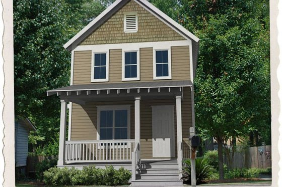 Craftsman Exterior - Front Elevation Plan #461-38