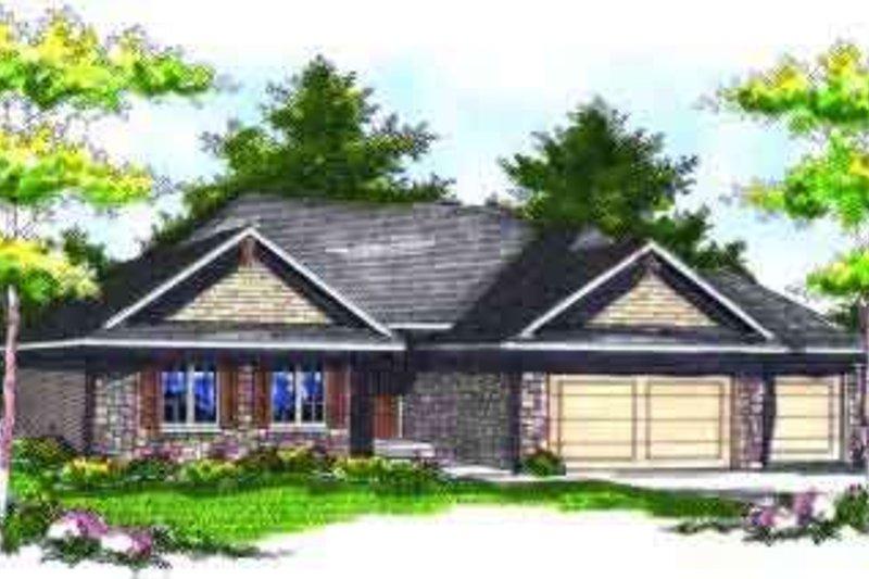 Dream House Plan - European Exterior - Front Elevation Plan #70-713
