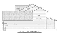 Home Plan - Traditional Exterior - Other Elevation Plan #20-2397