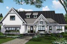 House Plan Design - Farmhouse Exterior - Front Elevation Plan #51-1140