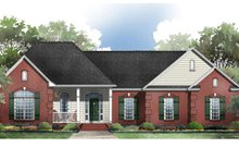 Architectural House Design - Traditional Exterior - Front Elevation Plan #21-180