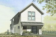 Cottage Style House Plan - 3 Beds 2 Baths 2024 Sq/Ft Plan #901-25 Exterior - Front Elevation