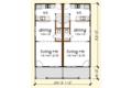 Southern Style House Plan - 4 Beds 2.5 Baths 1736 Sq/Ft Plan #79-276 Floor Plan - Main Floor Plan