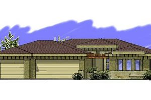 Exterior - Front Elevation Plan #24-244